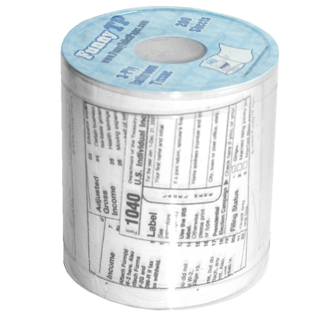 Gag Gifts - 1040 Toilet Paper