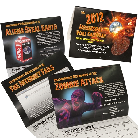 Gag Gifts - 2012 doomsday Calendar