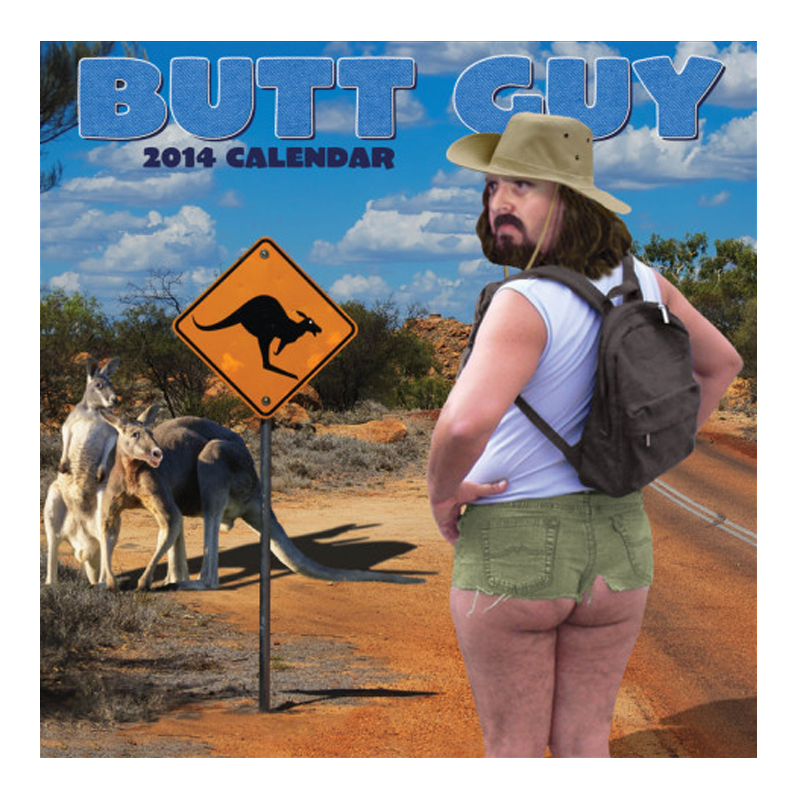 Gag Gifts - 2014 Butt Guy Calendar