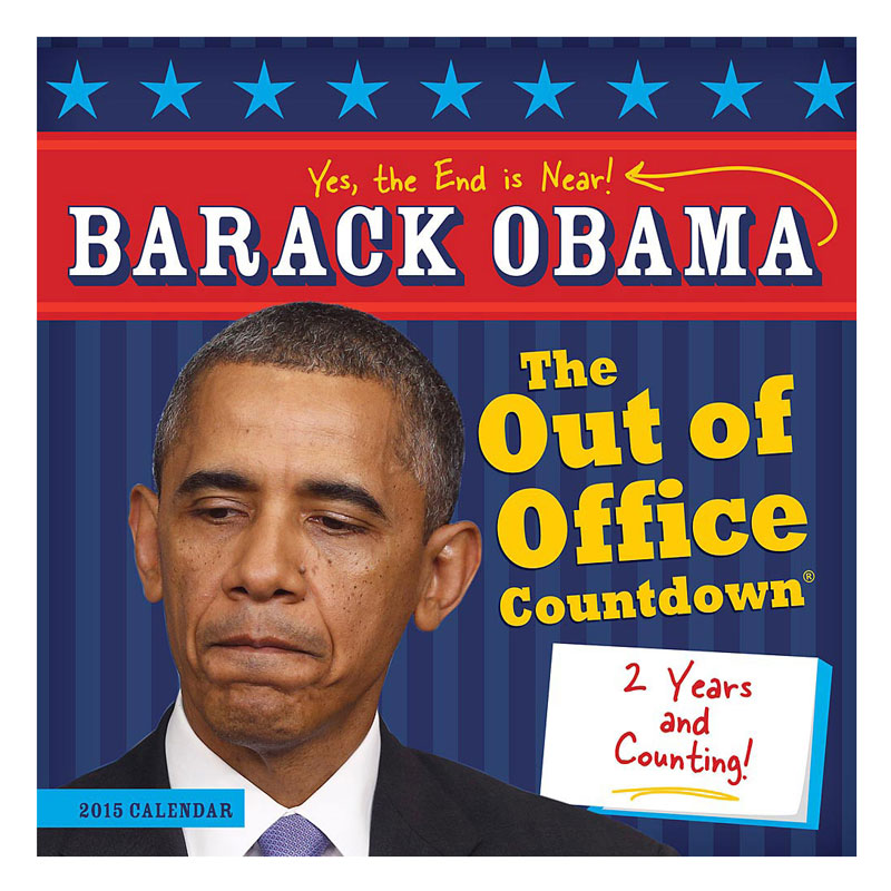 Gag Gifts - 2015 Obama, Out of Office Calendar