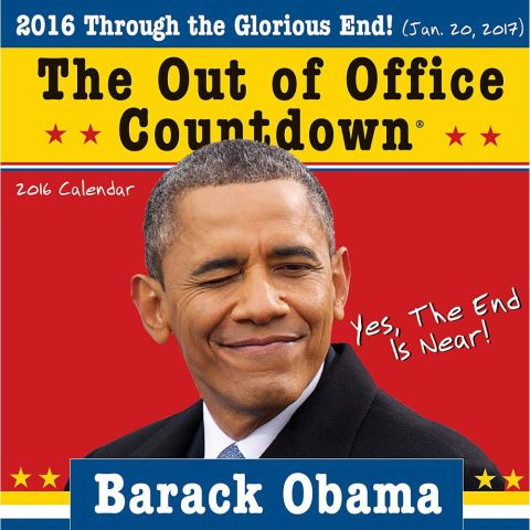 Gag Gifts - 2016 Obama, Out of Office Calendar