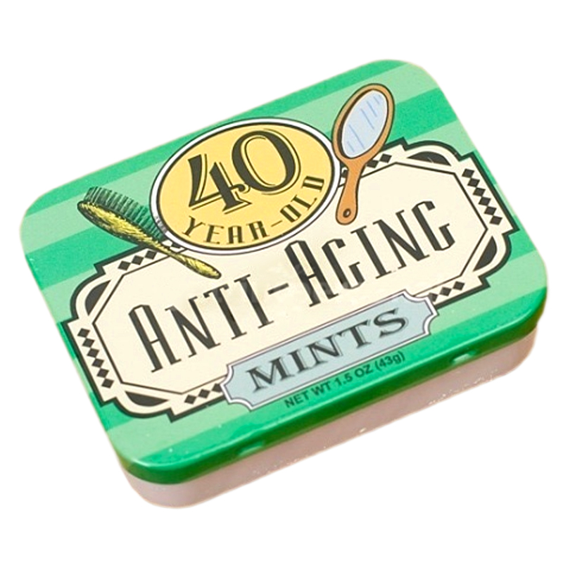 Gag Gifts - 40 Year Old, Anti-Aging Mints