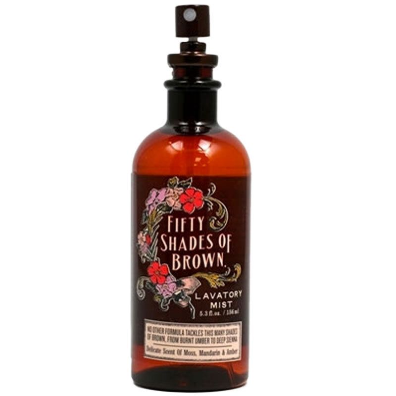 Gag Gifts - 50 Shades of Brown Lavatory Mist