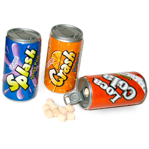 Gag Gifts - 6-Pack Soda CANdy