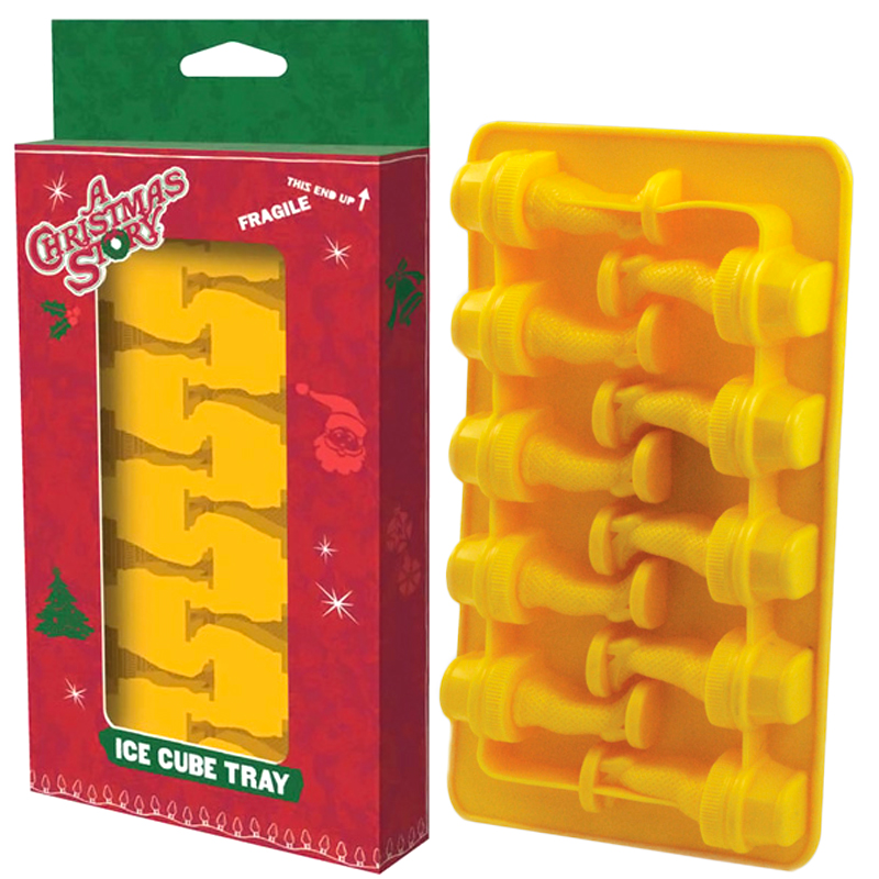 Gag Gifts - A Christmas Story, Leg Lamp Ice Cube Tray