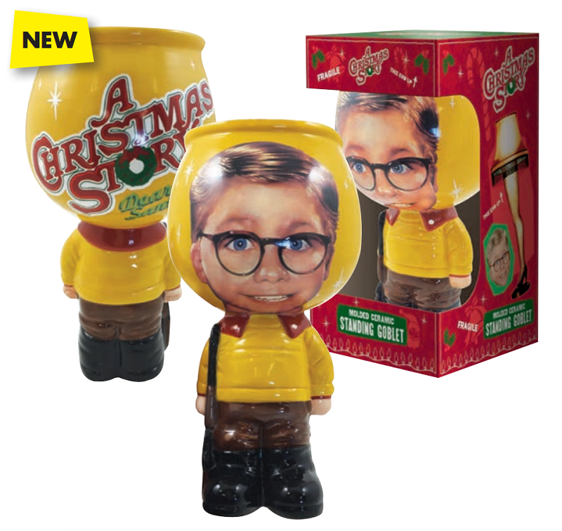 Gag Gifts - A Christmas Story: Ralphie Molded Goblet