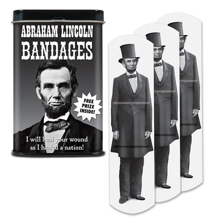 Gag Gifts - Abraham Lincoln Bandages