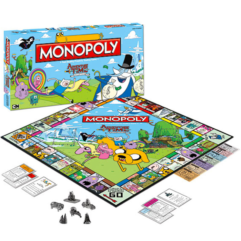 Gag Gifts - Adventure Time Monopoly Game