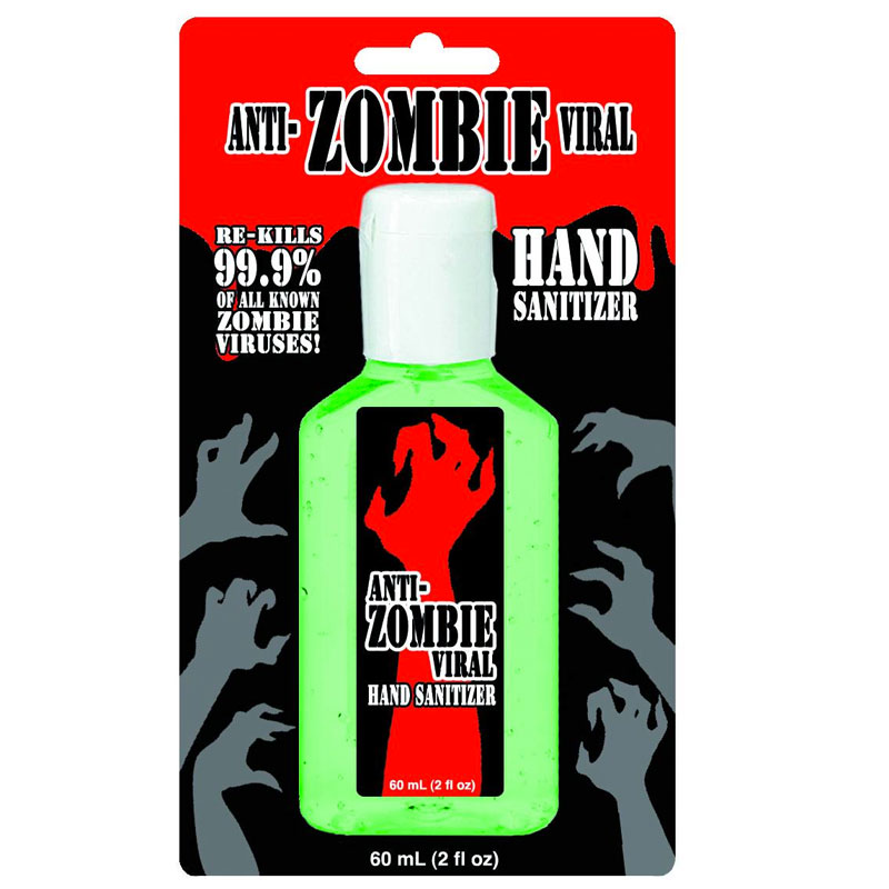 Gag Gifts - Anti-Zombie Hand Sanitizer