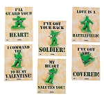 Army Guy Valentines (12 pack)