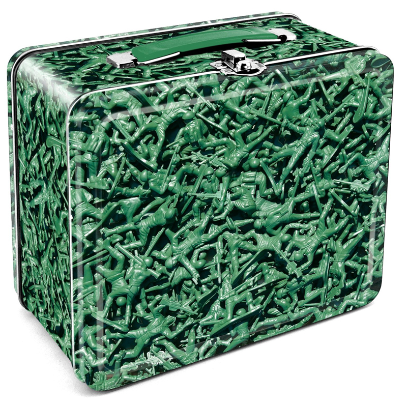 Gag Gifts - Army Men Lunchbox