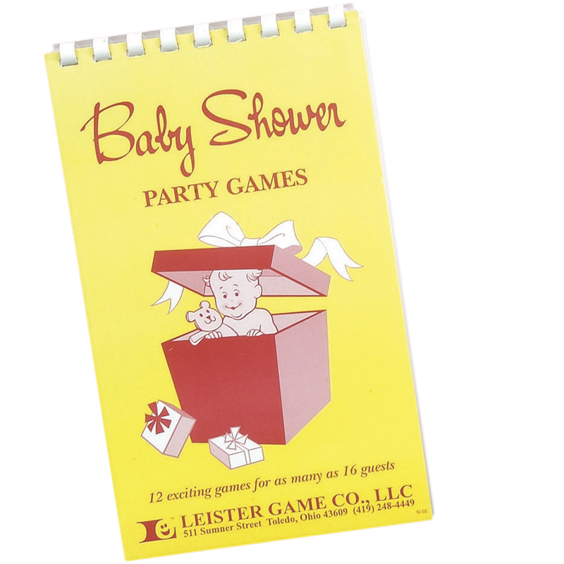 Gag Gifts - Baby Shower Party Games Book