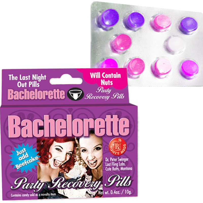 Gag Gifts - Bachelorette Party Recovery Meds