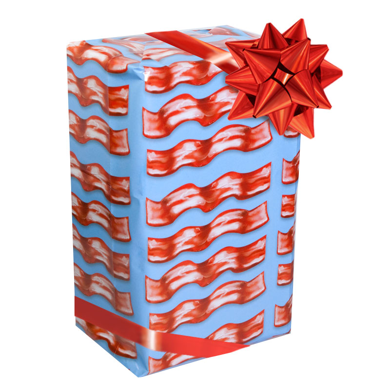 Gag Gifts - Bacon Gift Wrap
