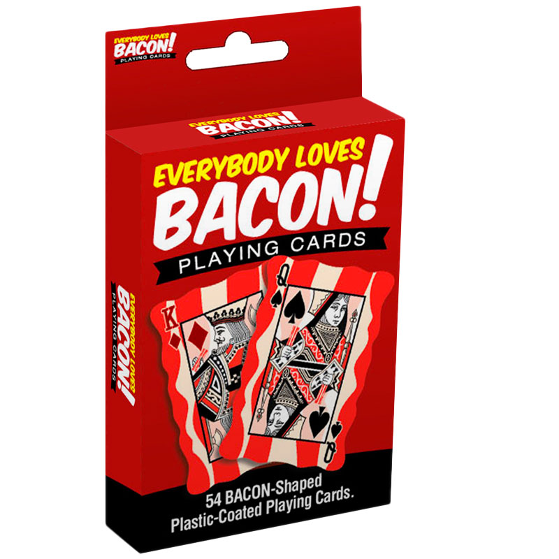 Gag Gifts - Bacon Playing Cards