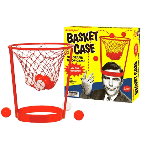 Gag Gifts - Basket Case the Headband Hoop Game