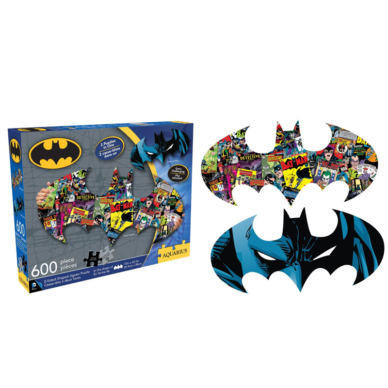 Gag Gifts - Batman 600 piece 2 Sided Die Cut Puzzle