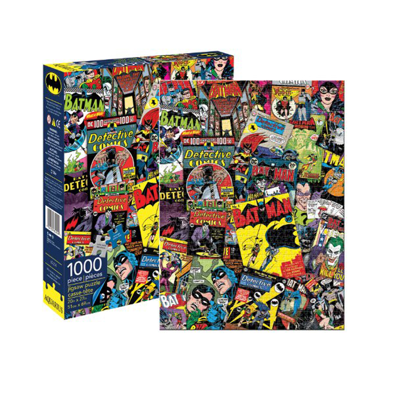 Gag Gifts - Batman Collage 1,000 Piece Puzzle