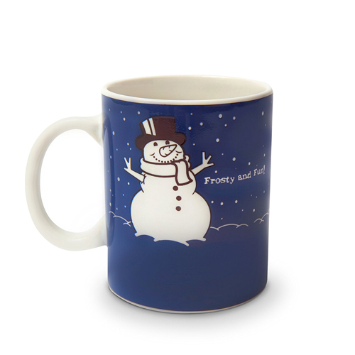 Gag Gifts - Before & After: Meltin' Snowman Mug