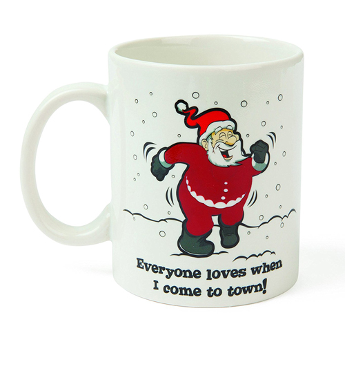 Gag Gifts - Before & After: Naughty Santa Mug