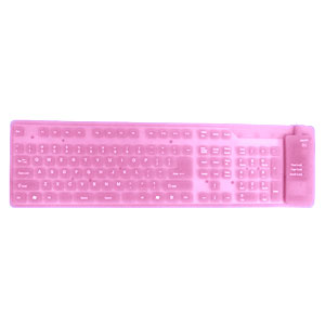 Gag Gifts - Bendable Keyboard, Pink