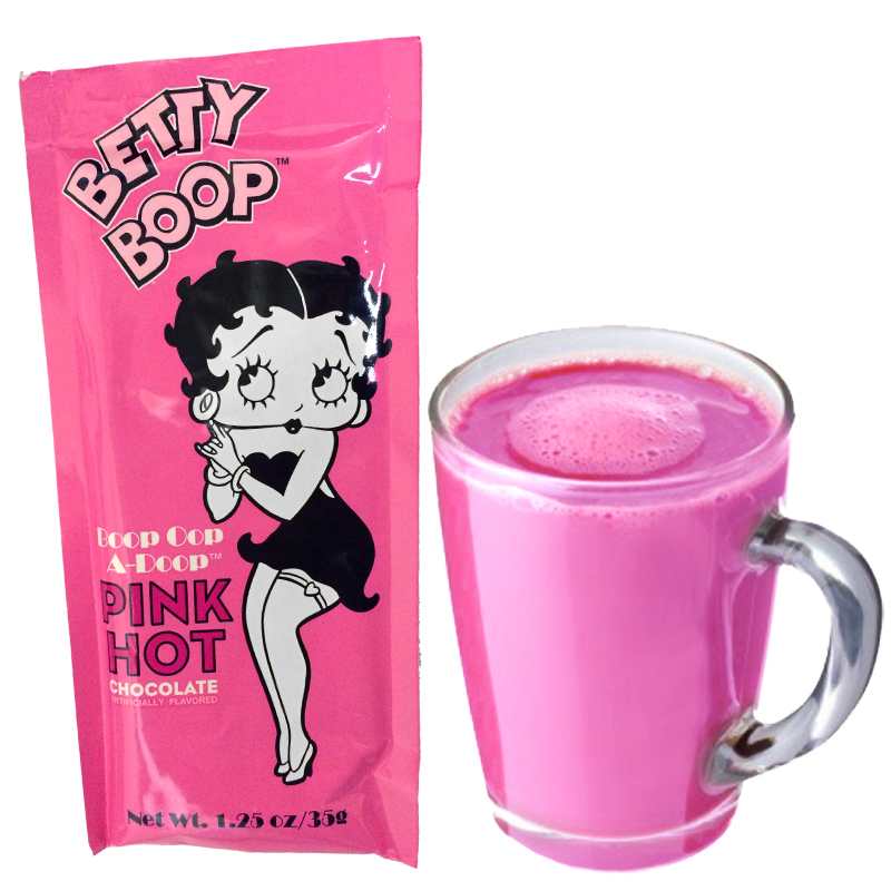 Gag Gifts - Betty Boop's Pink Hot Chocolate