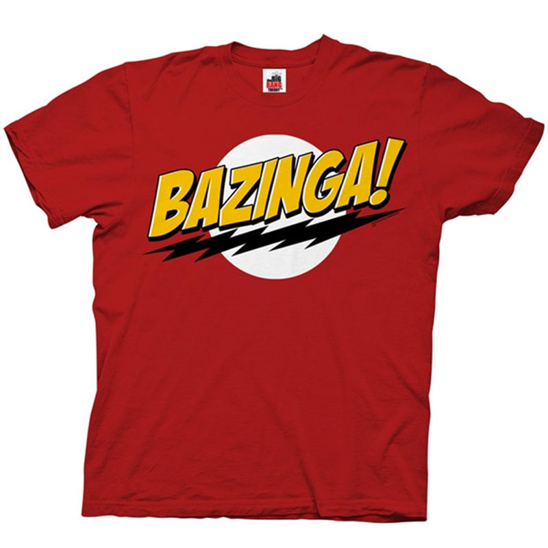 Gag Gifts - Big Bang Theory: Bazinga T-Shirt