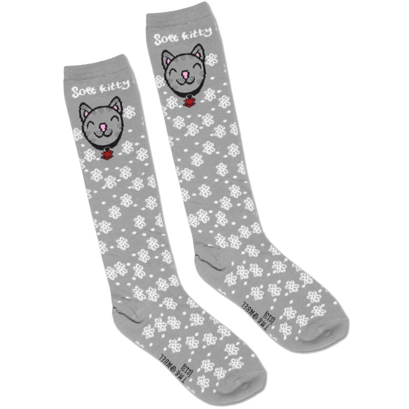 Gag Gifts - Big Bang Theory: Soft Kitty Knee High Socks