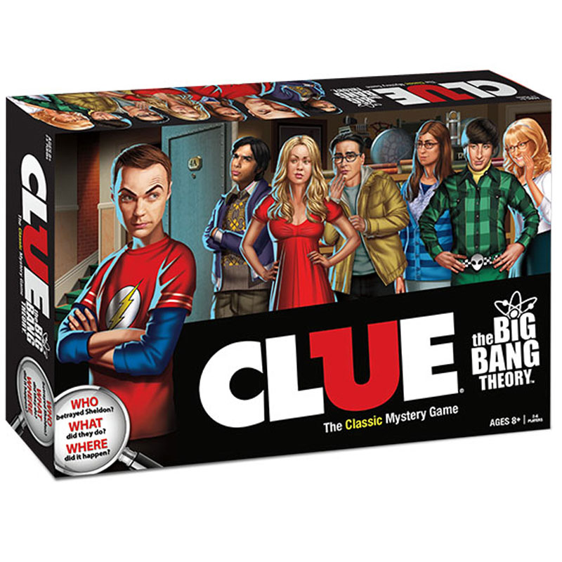 Gag Gifts - Big Bang Theory Clue Game
