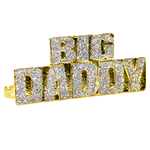Gag Gifts - Big Daddy Four Finger Ring