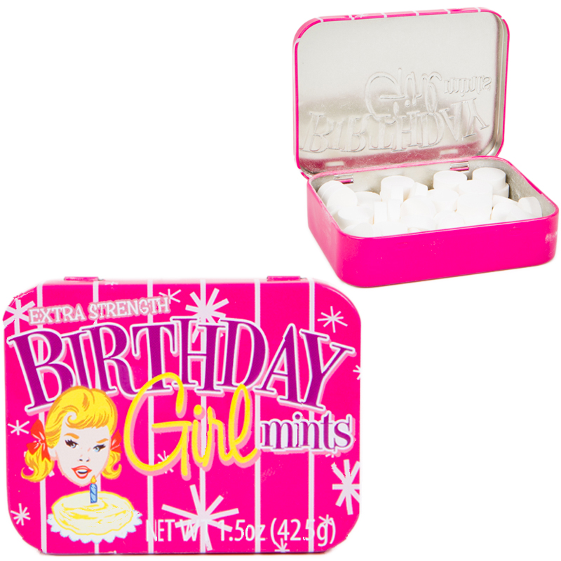 Gag Gifts - Birthday Girl! Mints