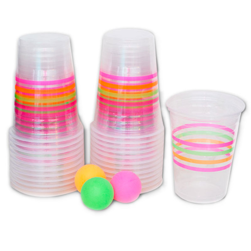 Gag Gifts - Blacklight Beer Pong
