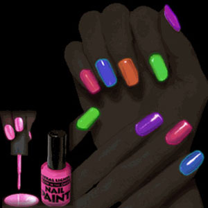 Gag Gifts - Blacklight Nail Polish