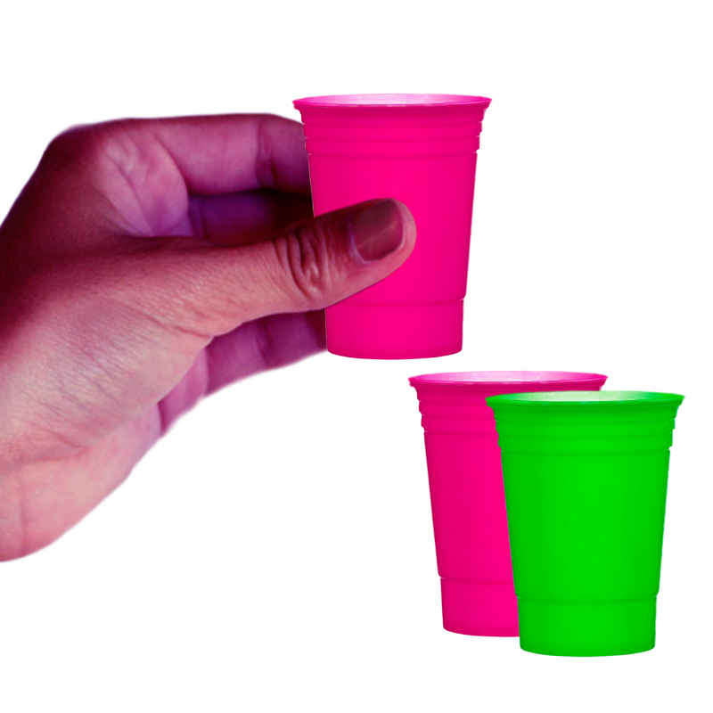 Gag Gifts - Blacklight Reactive Shot Glasses