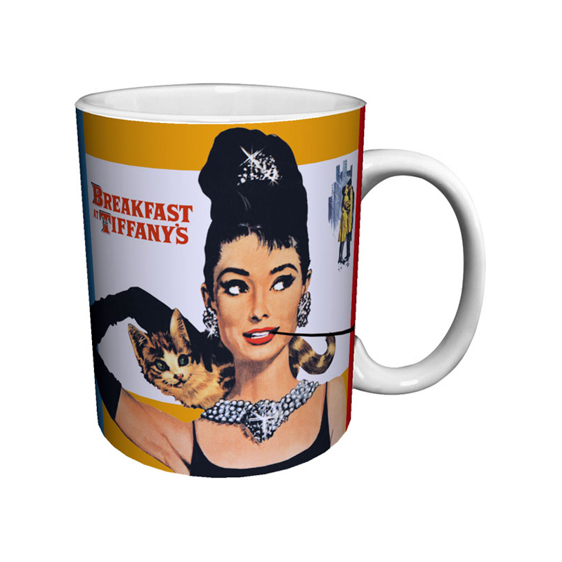 Gag Gifts - Breakfast at Tiffany's Mug: Poster