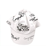 Bride To Be Autograph Hat
