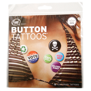 Gag Gifts - Button Tattoos