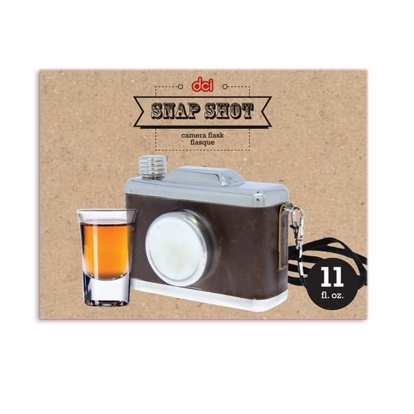 Gag Gifts - Camera Flask