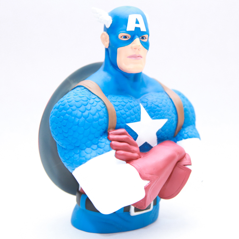 Gag Gifts - Captain America Bust Bank
