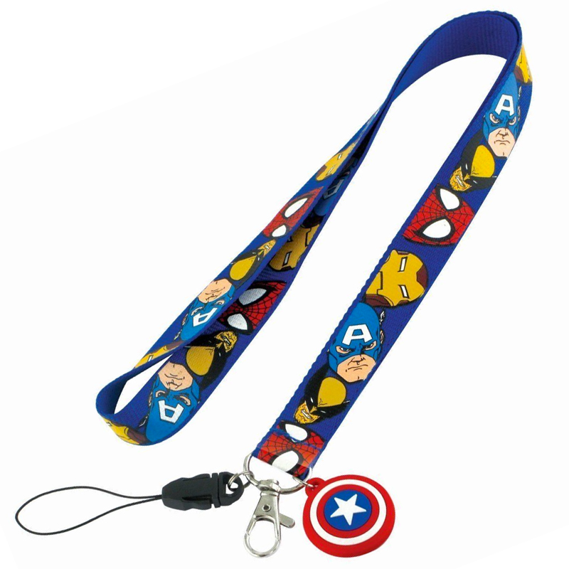 Gag Gifts - Captain America Lanyard Necklace