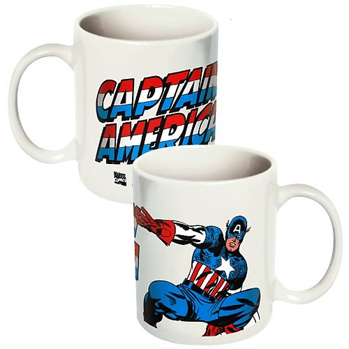 Gag Gifts - Captain America Mug