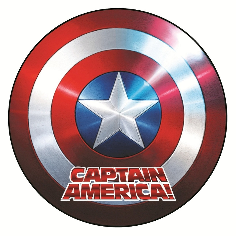 Gag Gifts - Captain America Shield Magnet