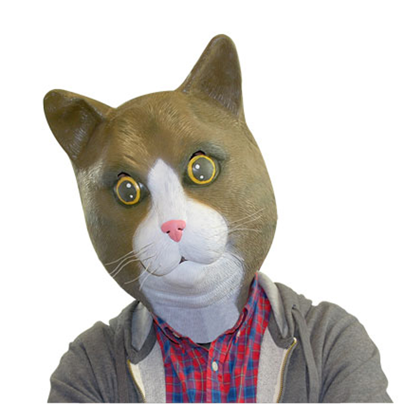 Gag Gifts - Cat Mask: Buster Brown