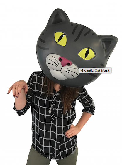 Gag Gifts - Cat Mask