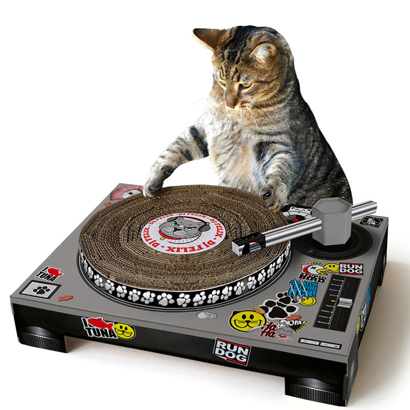 Gag Gifts - Cat Scratch DJ Booth