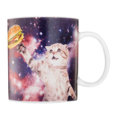 Gag Gifts - Cat in Space Mug
