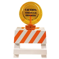 Caution Miniature Work Signs