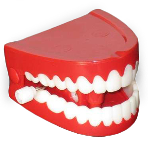 Gag Gifts - Chattering Teeth