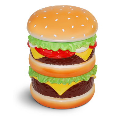 Gag Gifts - Cheeseburger Cookie Jar