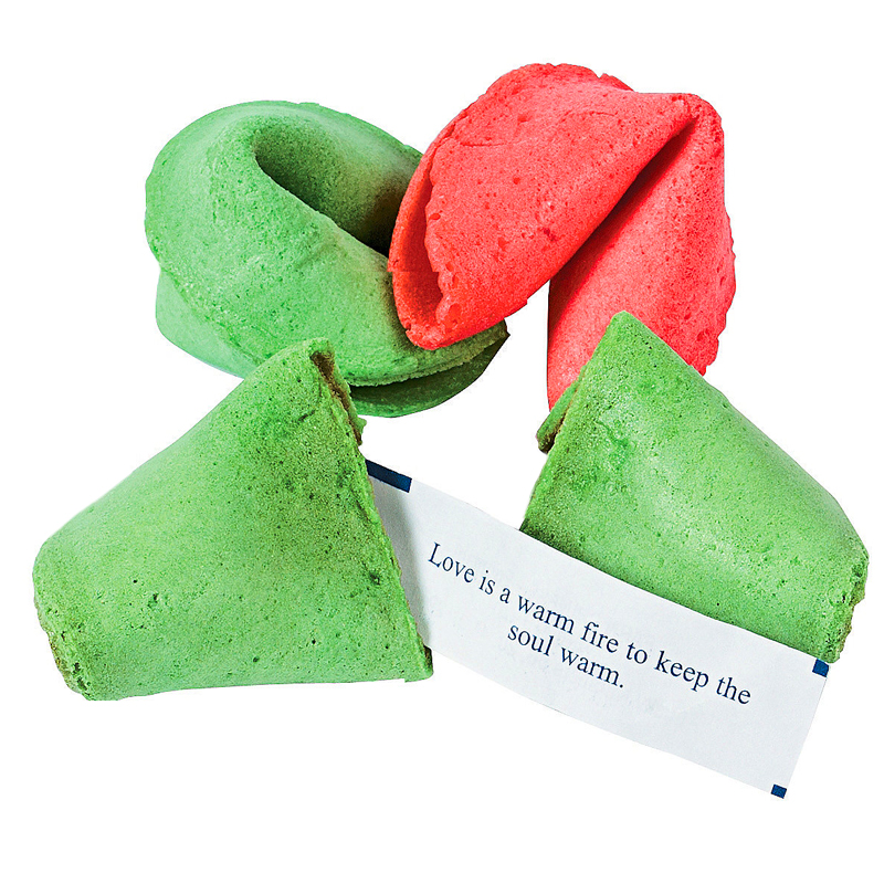 Gag Gifts - Christmas Fortune Cookies (50 pack)